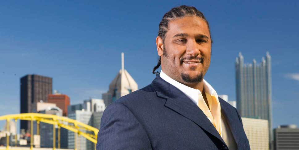 Former Pittsburgh Steeler offensive tackle Max Starks.
