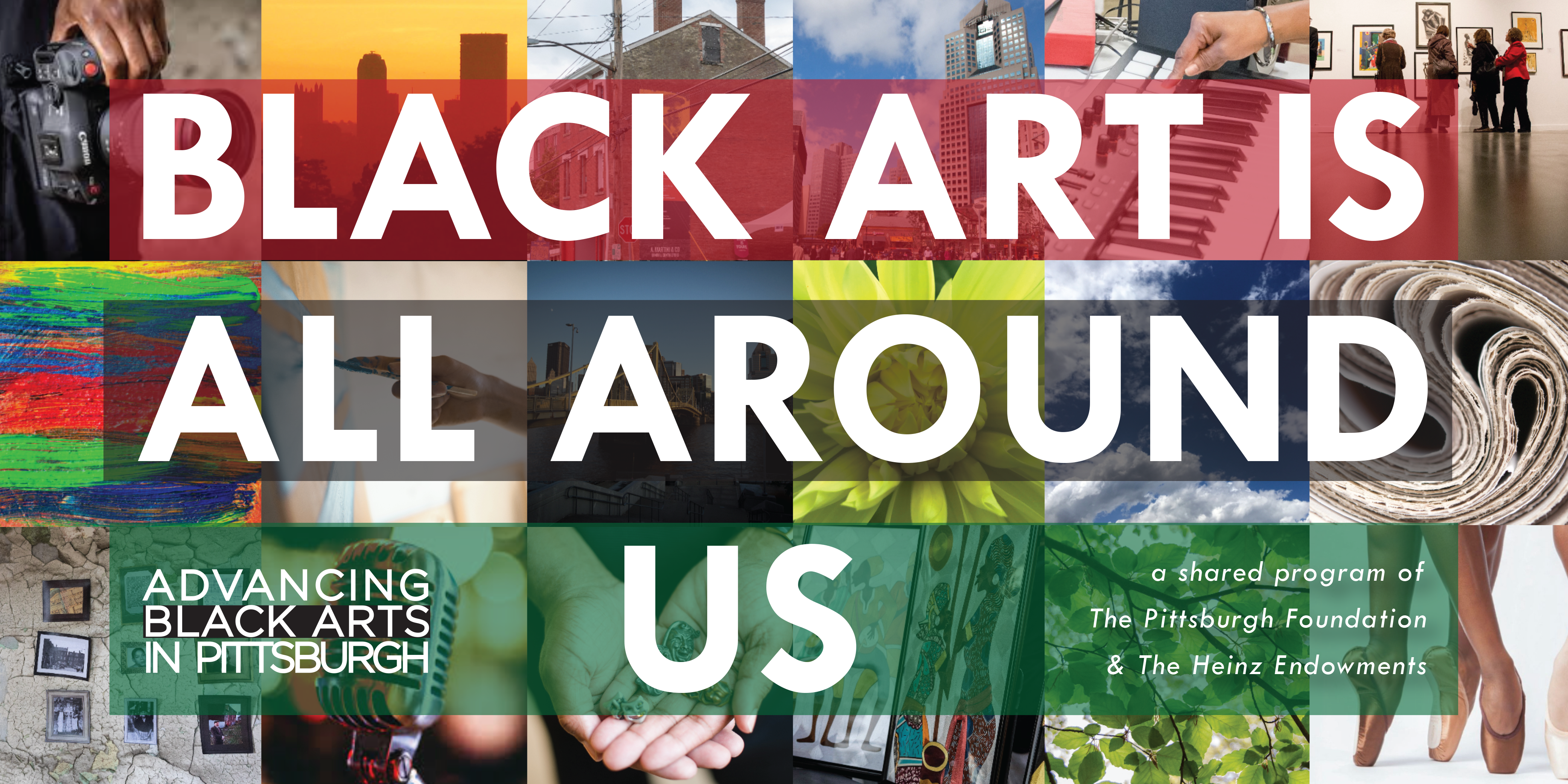 Advancing Black Arts in Pittsburgh is a shared arts initiative between The Pittsburgh Foundation and The Heinz Endowments.