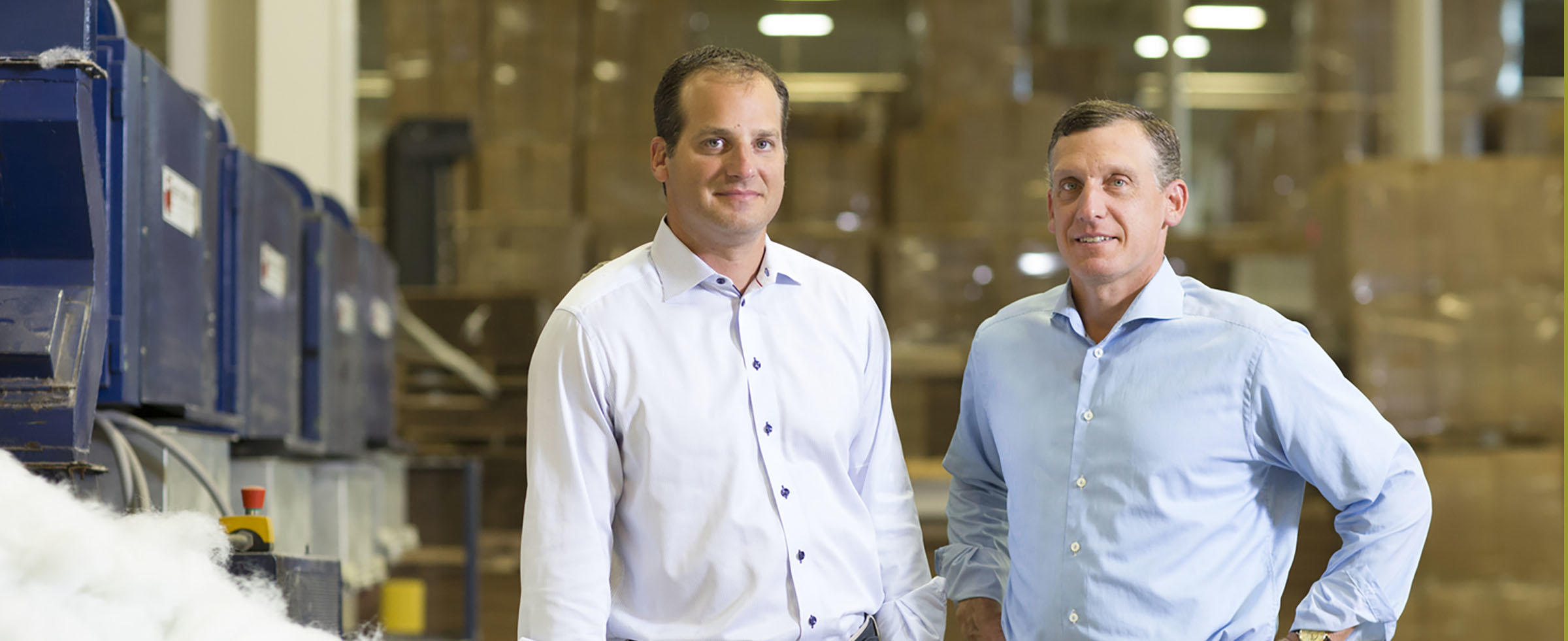 Blake Ruttenberg, executive vice president of American Textile Co., and his brother, Lance, the company's CEO, have made philanthropy through The Pittsburgh Foundation a priority for their family and their business.